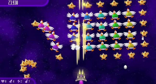 tai game chicken invaders mien phi